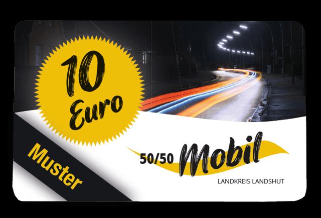 """50/50 Mobil Landkreis Landshut"""