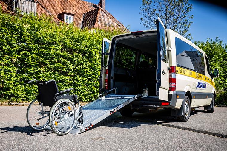 Krankenfahrten bei Taxi Daffner in Ergoldsbach